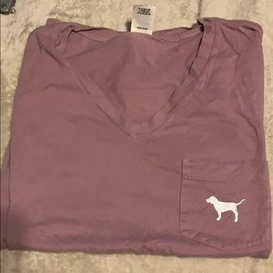 victoria secret short sleeved tee